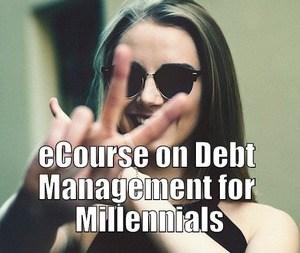 eCourse on Debt Management for Millennials